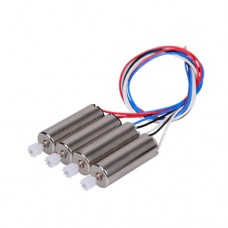 4PCS Motor Vehic For SYMA X5C-1 X5C X5 Motor With Whell Gear Engine A B Spear Parts Accessories For RC Drone Quadcopter