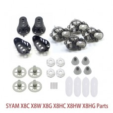 24 PCS Gear Frame Cover parts for Syma X8 X8C X8W X8HC X8HW X8HG Quadcopter Rc Spare Parts Part Helicopter Accessories