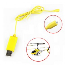 2PCS RC Helicopter Syma S107 S105 USB Mini Charger Charging Cable Parts Drone Charging Cable