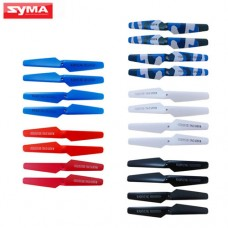 5Set Colorful Propellers Blade For Syma X5 X5C X5SC X5SW M68 RC Quadcopter Camouflage Spare Parts Helicopter Accessories