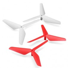 2017 New 4PC 3 Blade Propeller for Syma X5 X5C X5SC X5SW Red & White