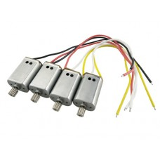 4PCS/Lot Engine Motor for SYMA X8SW X8SC RC Quadcopter helicopter motor spare parts accessories
