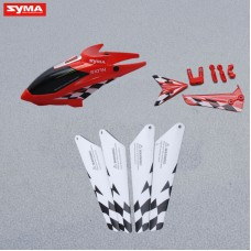 S107N-03-Head-cover-Main-blades-Tail-decorations-Red