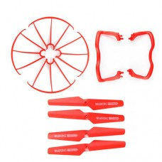 X5A-1_Protecting-frames-Main-blades-Landing-skids-Red
