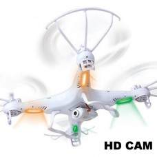 Syma X5C With 2MP HD Camera 2.4G 4CH 6Axis RC Quadcopter