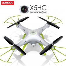 Syma X5HC With 2MP HD Camera 2.4G 4CH 6Axis Barometer Set Height Headless Mode RC Quadcopter White