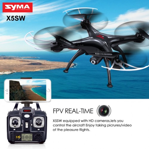 32 500x500 syma x5sw with wifi fpv hd camera 2 4g 4ch 6axis headless mode rc  at mifinder.co
