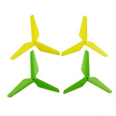 X5SW-02-3Blades-Yellow-Green