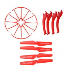 X5SW_Protecting-frames-Main-blades-Landing-skids-Red