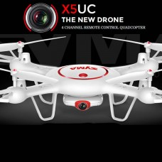 Syma X5UC With 2MP HD Camera 2.4G 4CH 6Axis Barometer Set Height Headless Mode RC Quadcopter