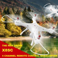 Syma X8SC HD Camera 4 Channel Remote Control Quadcopter Syma Quadcopter New Drone