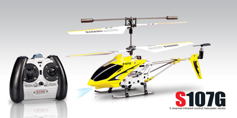 Syma S107g 3ch Rc Helicopter With Gyro Blue