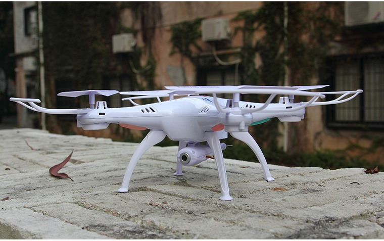 Syma X5SW Wiif FPV Real-time 2.4G 4-Channel QuadCopter (HD CAM) White